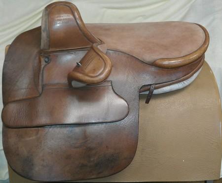 Side saddles for sale by Laura Dempsey, Master Saddler